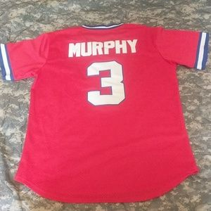 1264a5ba4 Mitchell   Ness Shirts - Atlanta Braves Dale Murphy Throwback jersey